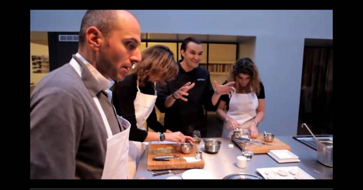 Cyril lignac ouvre son atelier cuisine attitude for Atelier cuisine cyril lignac