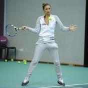 Tatiana Golovin : La chérie de Samir Nasri a repris sa raquette !