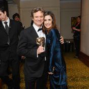 BAFTA : L'indétrônable Colin Firth savoure avec amour son bonheur !