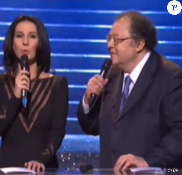 Marie Drucker présentait les Victoires de la musique classique, sur France 3, le 14 février 2011