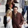 Cameron Diaz et Jason Segel sur le tournage de Bad Teacher
