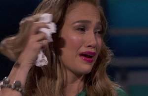 Jennifer Lopez en larmes à la télévision américaine !
