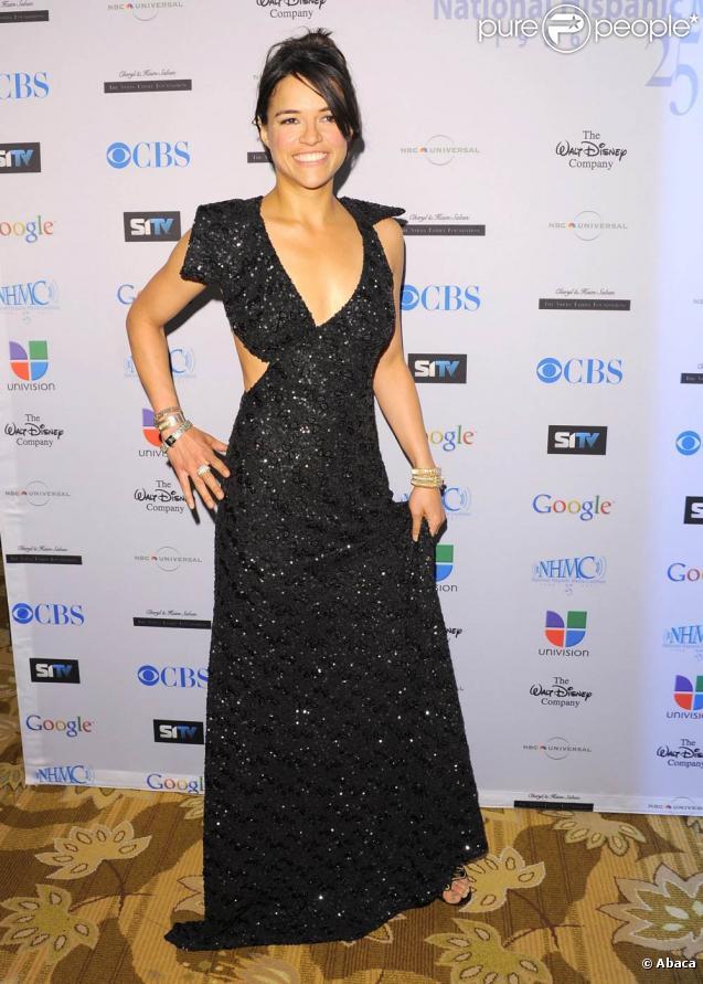 Michelle Rodriguez lors de la 14ème cérémonie des Annual Impact Awards à Beverly Hills