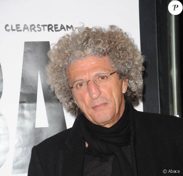 Elie Chouraqui à l'occasion de l'avant-première du Bal des Menteurs : Le procès Cleartsream, à Paris, le 1er mars 2011.