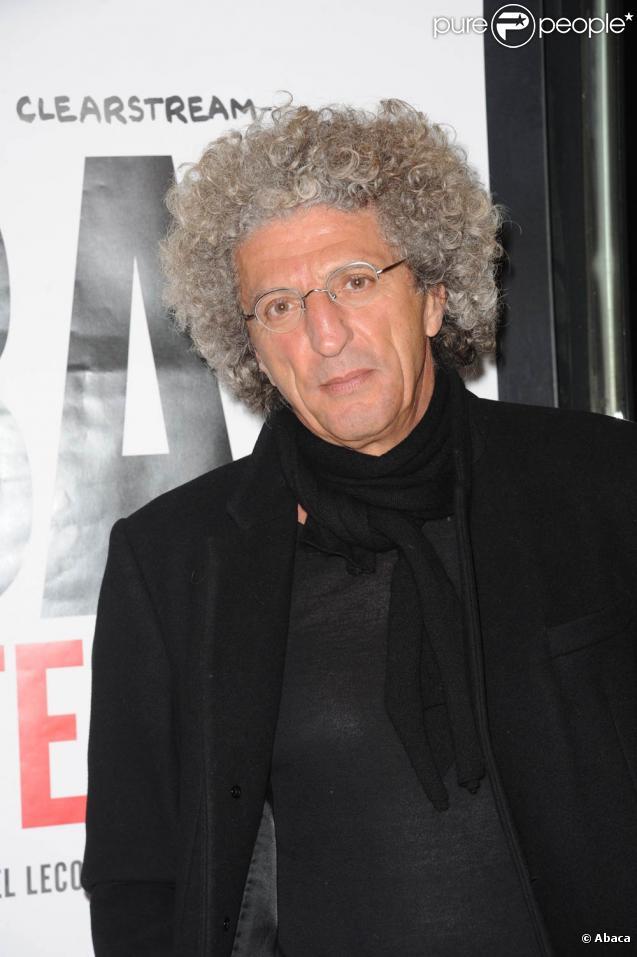 Elie Chouraqui à l'occasion de l'avant-première du  Bal des Menteurs : Le procès Cleartsream , à Paris, le 1er mars 2011.