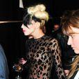 Lady GaGa a mis le feu au défilé Mugler le 2 mars 2011 à Paris