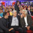 Gérard Darmon et José Garcia sont venus faire une surprise à Enrico Macias, invité d'honneur de Vivement dimanche, mercredi 2 mars. La diffusion est prévue sur France 2, dimanche 6 mars.
