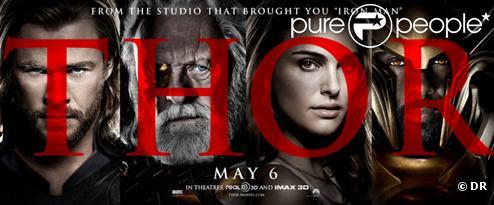 L'affiche du film Thor