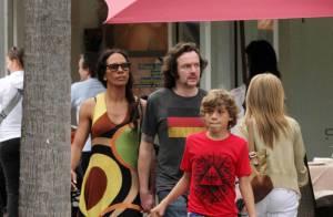 Barbara Becker avec mari et fils à Miami... en même temps que son ex Boris !