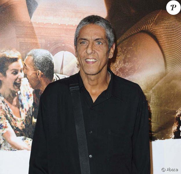 Samy Naceri, avant-première parisienne de Ces amours-là de Claude Lelouch, le 12 septembre 2010