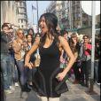 Nicole Scherzinger est déjà à Paris avant sa prestation sur le plateau de Danse avec les stars, samedi 19 mars 2011 sur TF1
