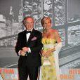 Marc Landeau et Monica Agusta au Bal de la Rose 2011, le 19 mars, à Monaco.