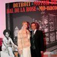 Otto Kern et son épouse au Bal de la Rose 2011, le 19 mars, à Monaco.