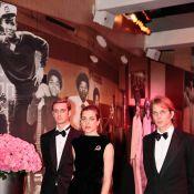 Bal de la Rose 2011 : Charlotte, Andrea et Pierre Casiraghi dignes et émouvants