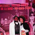Jimmy Cliff et sa femme au Bal de la Rose 2011, le 19 mars, à Monaco.