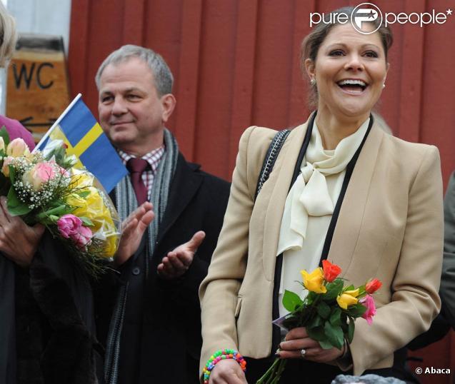 La princesse Victoria de Suède et le prince Daniel étaient en visite à Göteborg les 17 et 18 mars 2011.