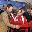 Le 18 mars 2011, le prince Frederik de Danemark lançait la première pierre des Mondiaux féminins de curling, au Danemark.