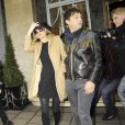 Kate Moss et son futur mari Jamie Hince