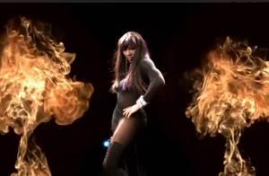 Serena Williams : Son duel sexuel avec une bombe en bas résille fait scandale !