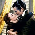 """""""Clark Gable et Vivien Leigh dans  Autant en emporte le vent  """""""