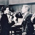 Katharina Hepburn et Spencer Tracy dans  Madame porte la culotte
