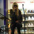 Taylor Momsen en showcase à la Fnac des Champs-Elysées, à paris le 25 mars 2011