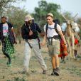 Craig David au Kenya lors d'un trek en février 2011