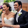 Rachel Griffiths et Gilles Marini dans le final de Brothers and Sisters