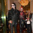 Marilyn Manson quitte la soirée Vivienne Westwood le 30 mars 2011
