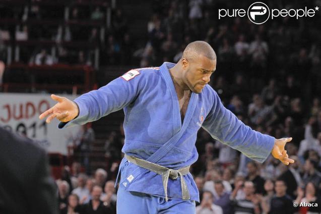 Teddy Riner (photo : en février 2011, lors du Tournoi de Paris) a été au coeur du canular du 1er avril de  L'Equipe