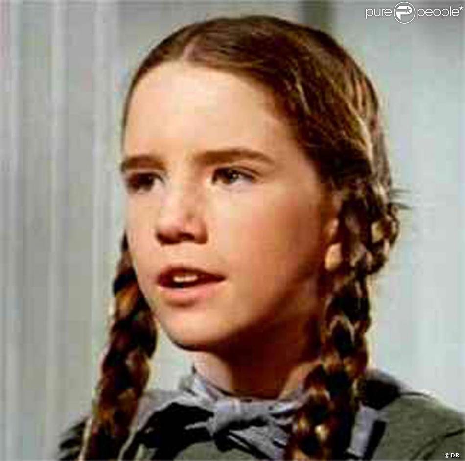 Melissa Gilbert à l époque où elle incarnait Laura Ingalls dans La petit