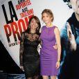 Caterina Murino et Alice Taglioni à la projection du film La proie, au cinéma UGC Bercy. 12 avril 2011