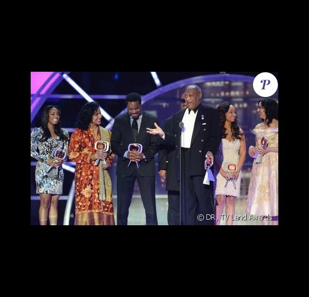 Le casting du Cosby Show réuni pour les TV Land Awards 2011, dimanche 10 avril.