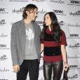 Demi Moore et Ashton Kutcher participent à la soirée de lancement de leur campagne  Real men don't buy girls , jeudi 14 avril, à New York.