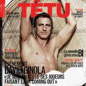 David Ginola dans Têtu : Le footballeur met son coeur et son corps à nu !