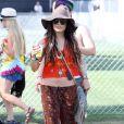 Vanessa Hudgens assiste au Festival de Coachella, vendredi 15 avril 2011.