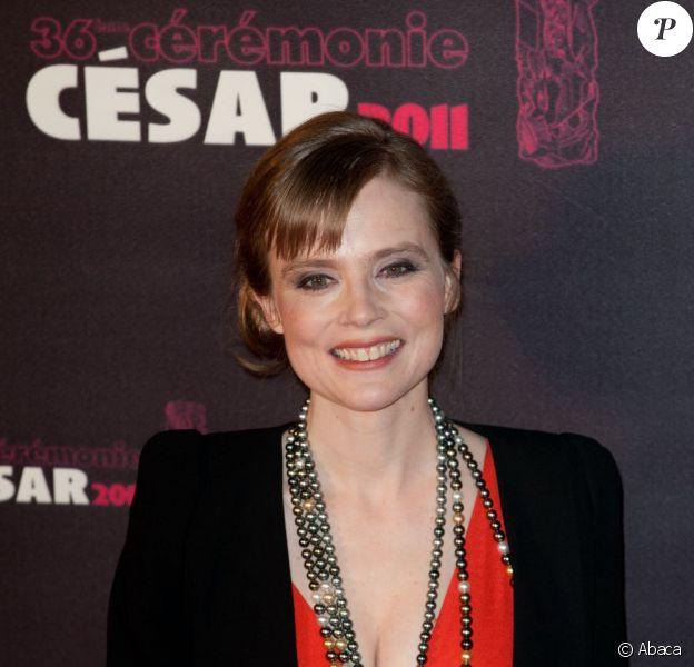 Isabelle Carré lors des César en 2011 le 25 février 2011