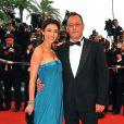 Jean Reno et Zofia sur le tapis rouge du festival de Cannes en 2008