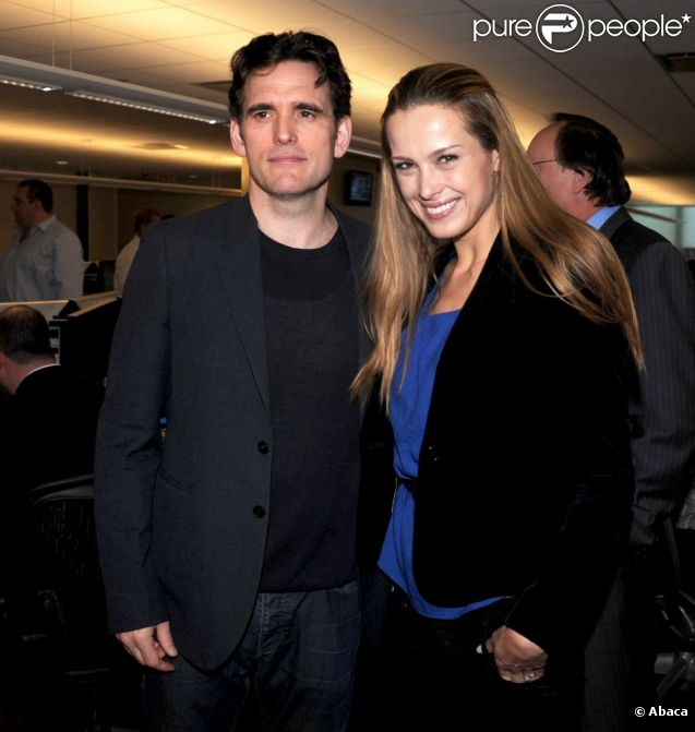 Petra Nemcova et Matt Dillon lors de la journée de charité BTIG's, à New York, le 27 avril 2011