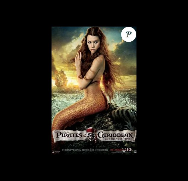 Une des affiches de Pirates des Caraïbes 4