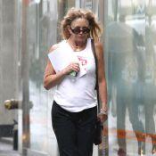 Goldie Hawn : Malgré ses efforts, l'actrice affiche une vilaine mine !