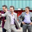 Gilbert Melki, Bruno Solo et José Garcia dans les premières images de  La Vérité si je mens 3 ! , en salles le 1er février 2012.