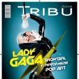 Lady Gaga en couverture de  Tribu Move , octobre 2008.
