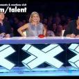 Le jury de Britain's Got Talent, composé de  Michael McIntyre, Amanda Holden, et David Hasselhoff