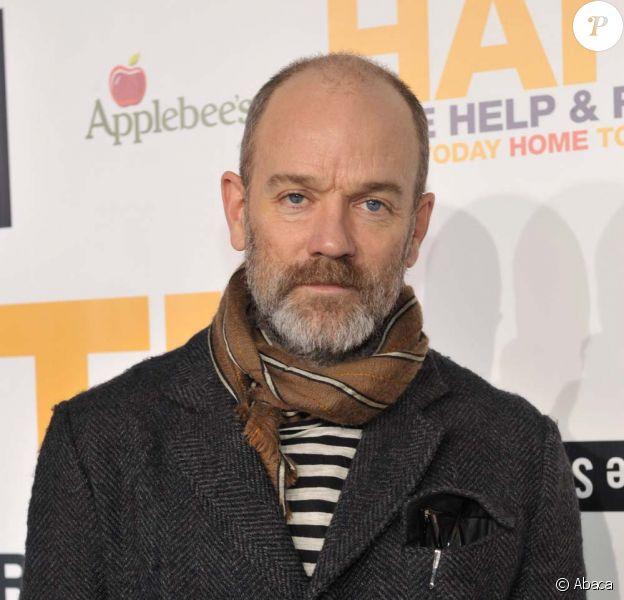 Michael Stipe, à New York, le 8 février 2010.