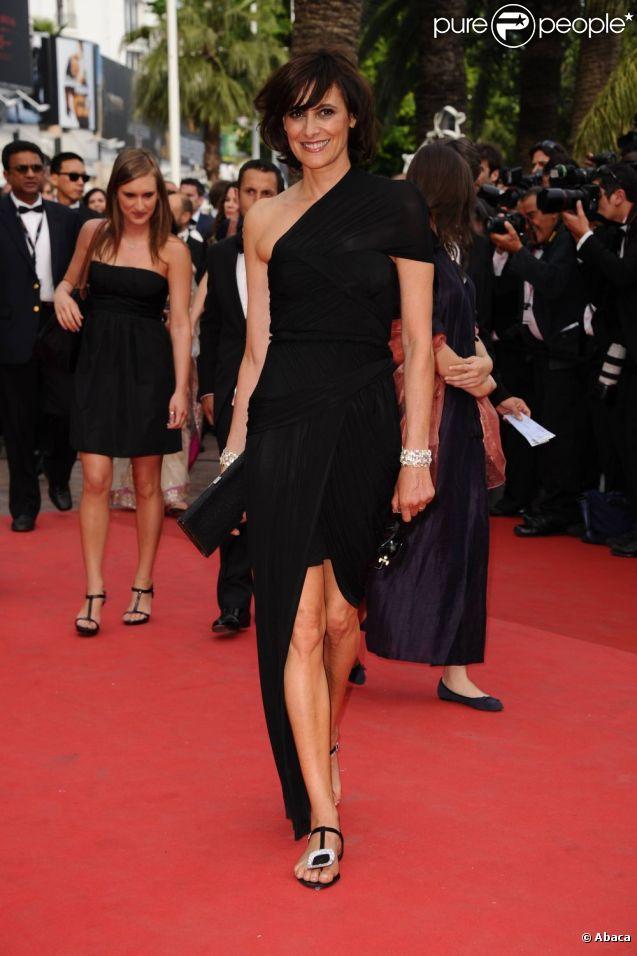 Inès de la Fressange lors de la cérémonie d'ouverture du 64ème Festival de Cannes, le 11 mai 2011