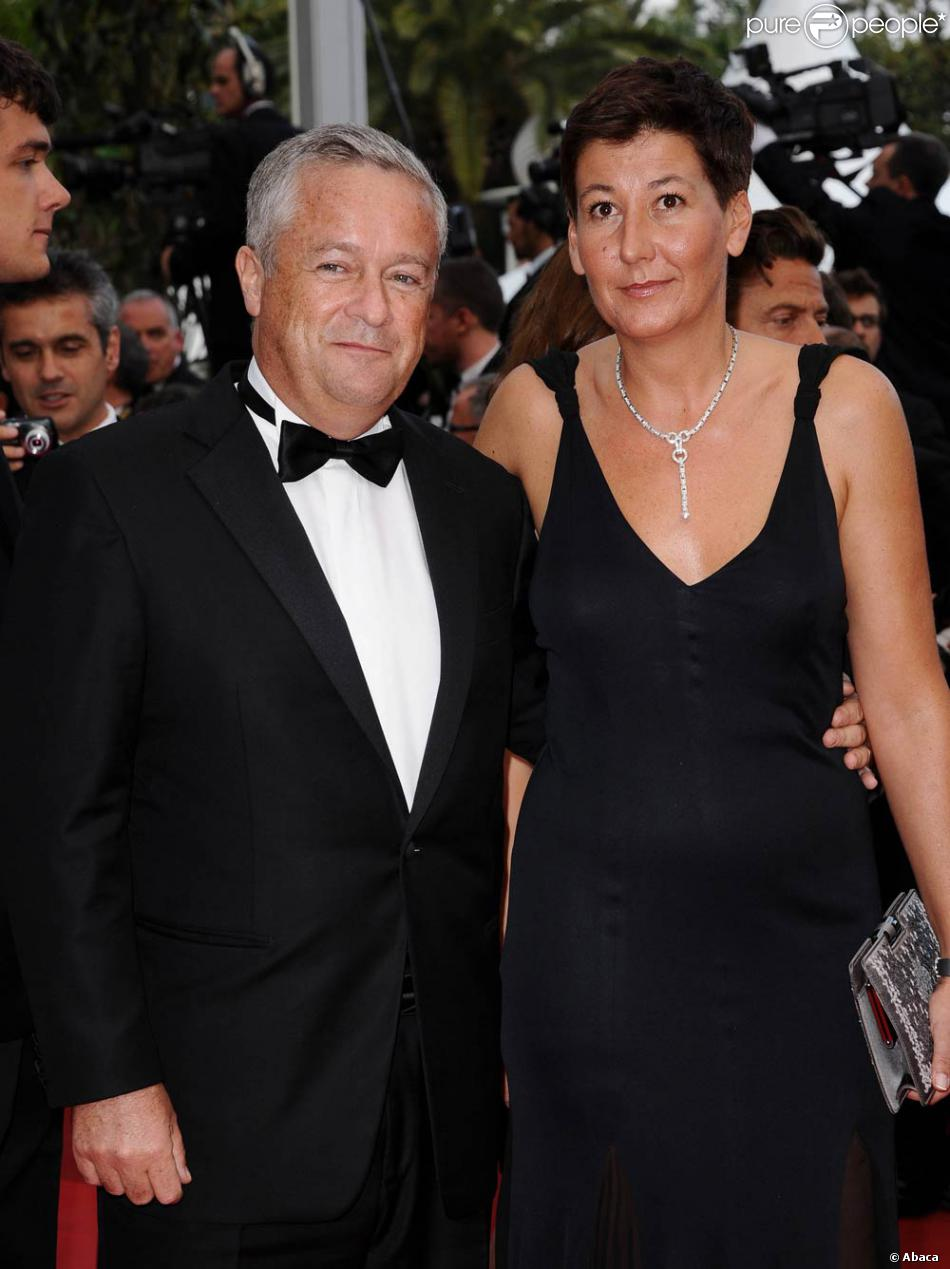 Jean,Marie Messier et sa femme à l\u0027occasion de la présentation de Sleeping  Beauty, dans le cadre du 64e Festival de Cannes, le 12 mai 2011.