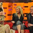 Lady Gaga, Gwyneth Paltrow et Geoffrey Rush sont invités du  Graham Norton Show  sur la BBC, émission enregistrée à Londres, le 12 mai 2011.