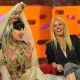 Lady Gaga et Gwyneth Paltrow sont invités du  Graham Norton Show  sur la BBC, émission enregistrée à Londres, le 12 mai 2011.