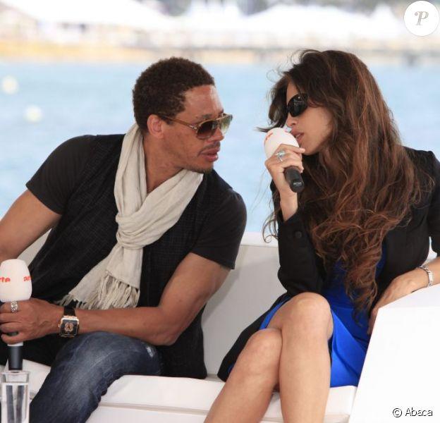 Maïwenn et Joey présentent le film Polisse, à Cannes, en mai 2011.